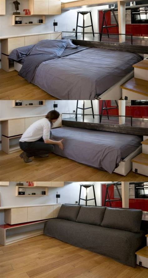 tricks in bed tiny apartment tricks 13 ideas for ultra compact spaces