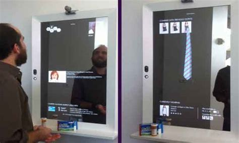 Magic Display Mirror Switches Between You And Would You by Magic Mirror Magic Mirror Display Skan Ads