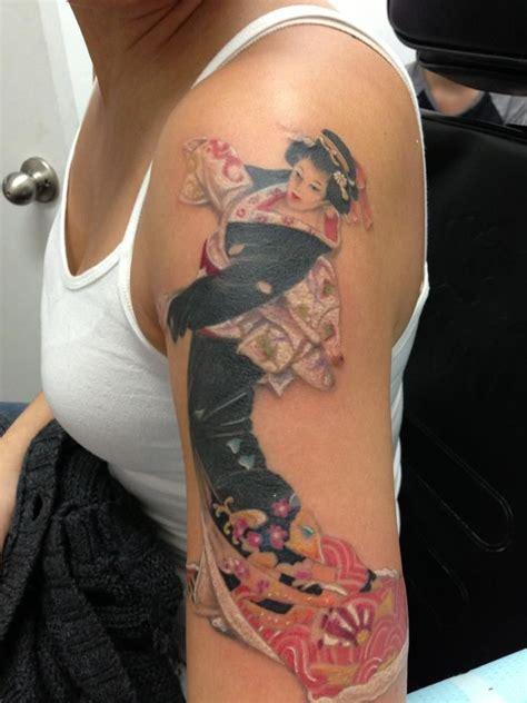 tattoo geisha hot 53 best geisha tattoos images on pinterest geisha