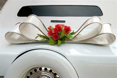 Wedding Car Accessories by Wedding Car Decorations And Accessories Sang Maestro