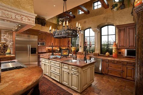 Kitchen Island Pendant Lighting Fixtures by Mediterranean Style Kitchen Design Secrets