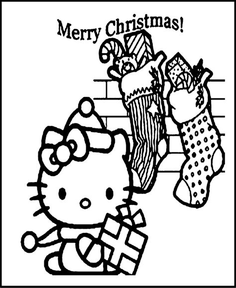 hello kitty merry christmas coloring pages hello kitty christmas coloring pages az coloring pages