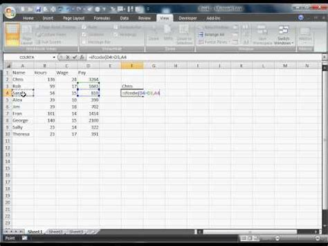 tutorial dasar kondisional statement di macro excel youtube nested if statements excel 2007 vba excel if else nested