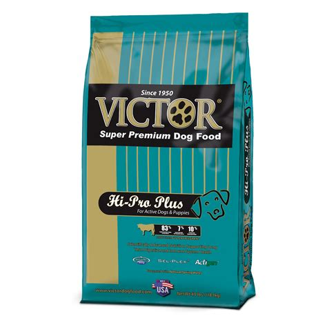 victory food victor hi pro active puppy food 40 lb