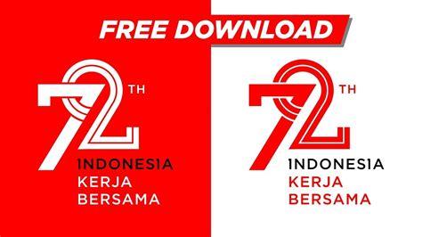 Pp Hut Ri Ke 72 free vector logo hut kemerdekaan ri ke 72 tahun 2017