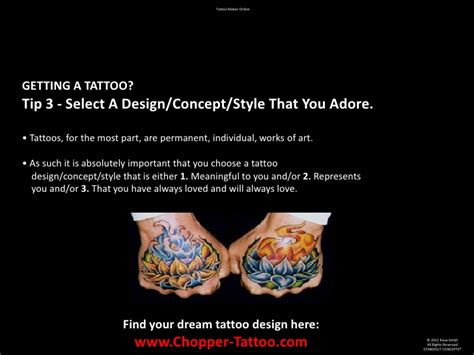 online tattoo design maker maker