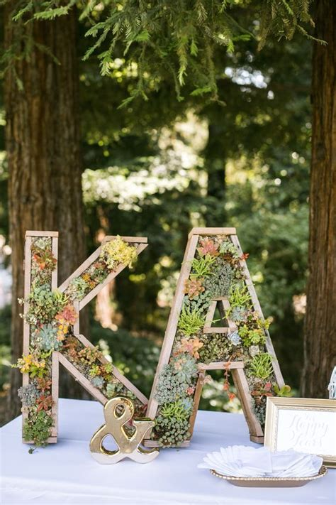 letters for table decorations 40 wedding initials letters decor ideas wedding
