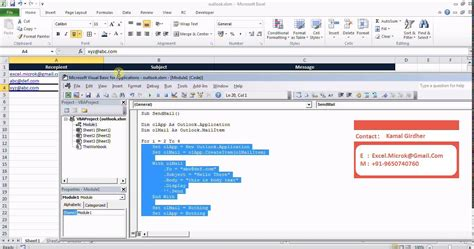 format email exle excel vba send email outlook template how to send email