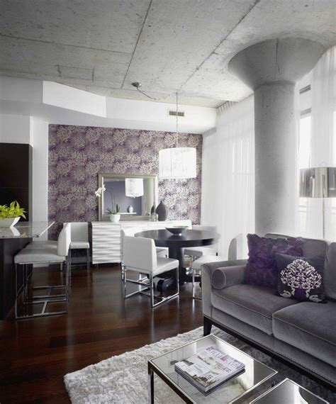 purple and gray living room ways to decorate grey living rooms decor around the world