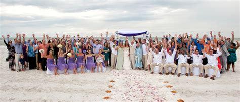 Sarasota Beach Weddings   Lido Beach, Siesta Key, and more