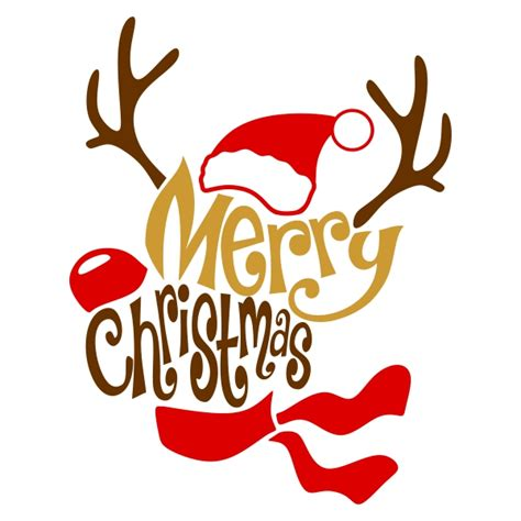 merry clipart merry cuttable designs