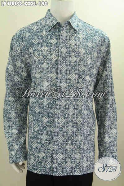 Baju Lengan Panjang Untuk Pria baju batik pria lengan panjang ukuran xxxl untuk pria badan besar model baju batik modern 2018