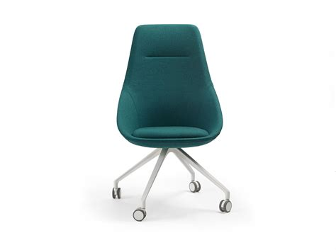 Ezy Chair by Ezy High Chair With Casters By Offecct Design Christophe Pillet