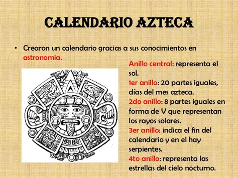 Calendario Solar Azteca Meses Culturas De Mesoamerica