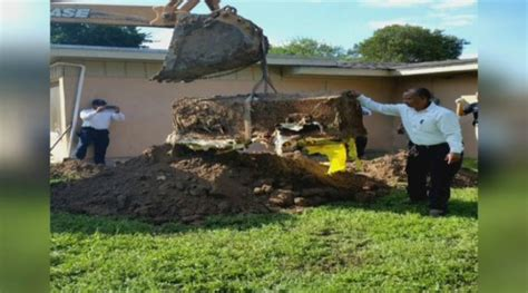 Buried In The Backyard by Finds Coffin Buried In Backyard Of New Home