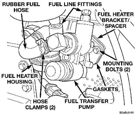 12 valve cummins fuel system diagram 12 valve in a 98 chevy 1 ton fuel questions dodge