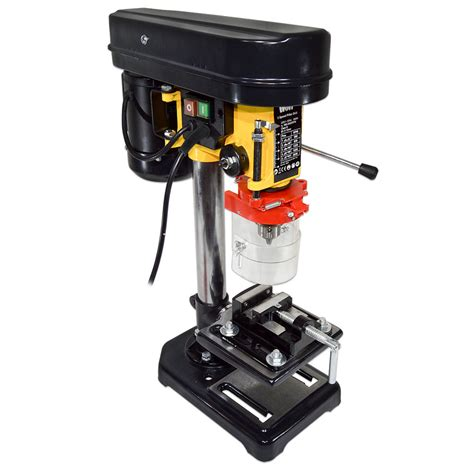 bench mount drill press wolf rotary pillar drill press bench top mounted drilling 5 speed 13mm 2 189 quot vice ebay