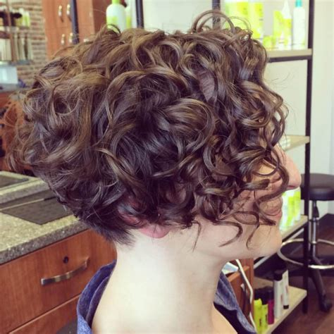 haircuts extremely curly hair newest very short curly inverted bob hairstyles best