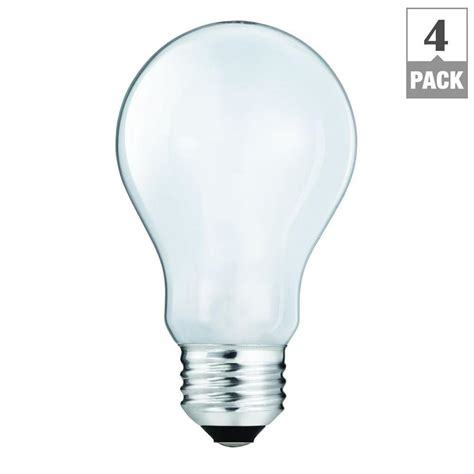100 watt clear light bulbs ecosmart 100 watt equivalent halogen a19 light 4