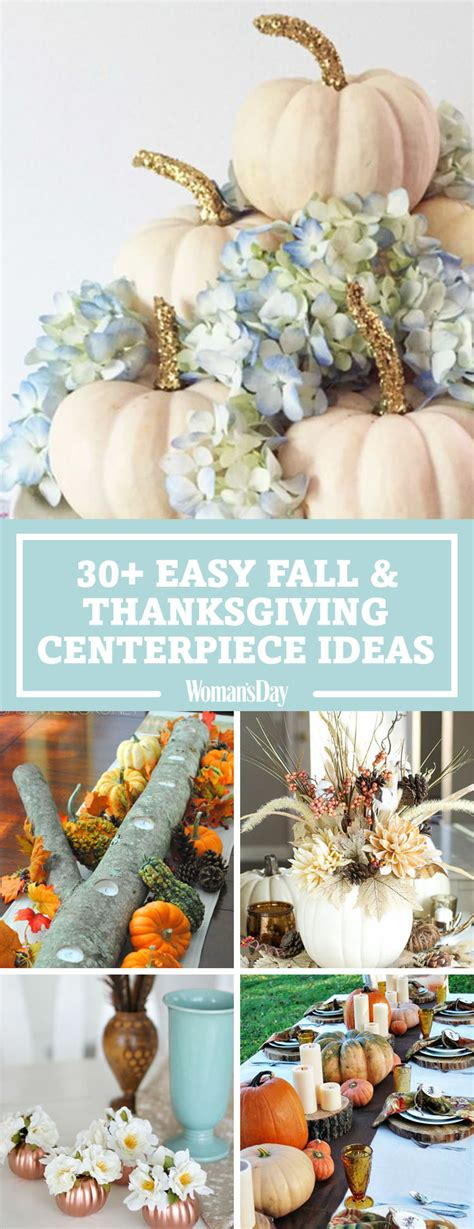 simple fall table decoration ideas 40 fall and thanksgiving centerpieces diy ideas for fall