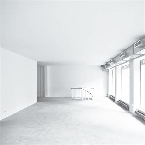 empty white room empty white room with basement stairs domlen flickr