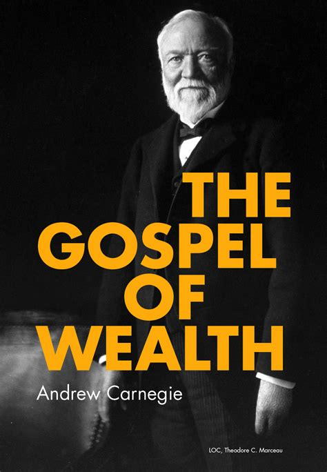 the gospel of wealth carnegie corporation of new york