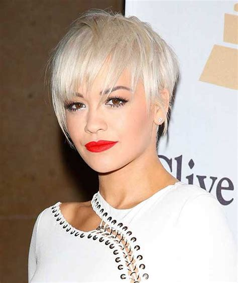 rita oras new short haircut from the 2015 grammy awards lipstick 2016 celebrity short hair pics short hairstyles