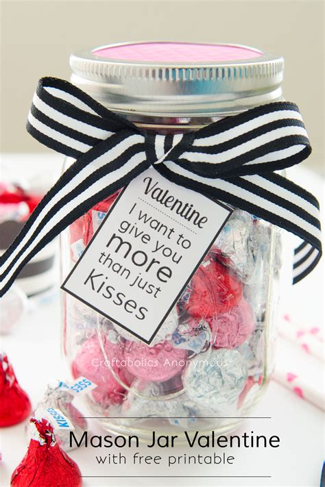 valentines day gifts for a craftaholics anonymous 174 jar with free