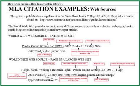 mla format for a website general resumes