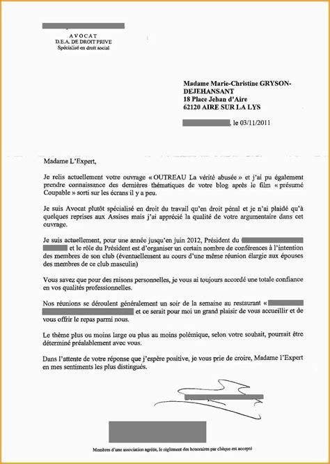 Modèle De Lettre à Un Avocat 8 lettre avocat lettre administrative