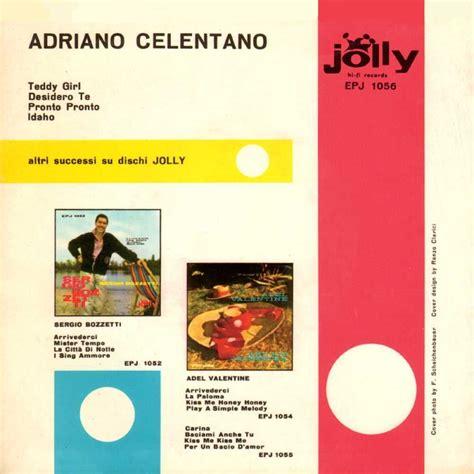 jolly blue testo adriano celentano discografia cover testi