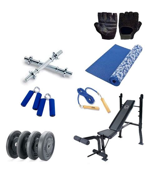 weight bench mat bhaseen s weight lifting gym 60 kgs baspo multi bench