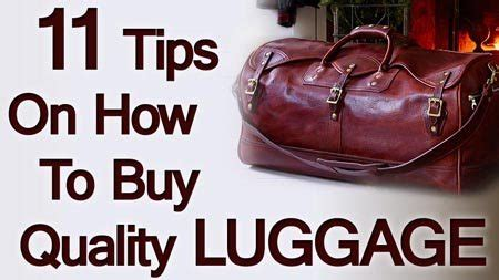 12 Tips On How To If Your Mans Lying To You by 11 Luggage Buying Tips How To Buy Quality Travel Bags