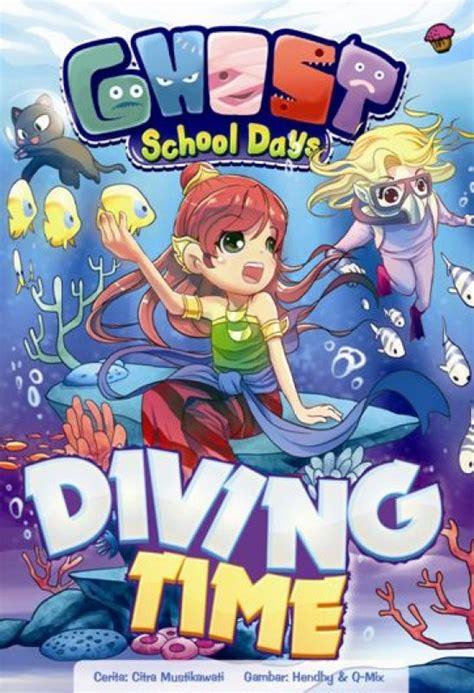 Komik Ghost School Days Dadakan bukukita ghost school days diving time
