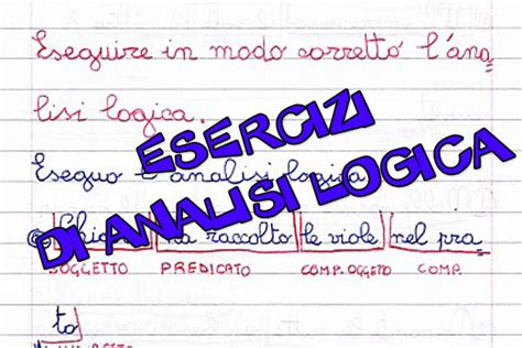 test ingresso matematica seconda media guamod 236 scuola esercizi di analisi logica per la scuola