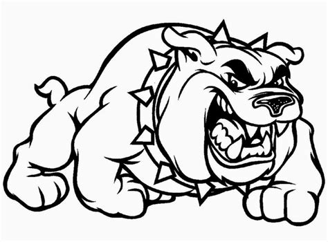 free coloring pages of bulldogs bulldog coloring pages