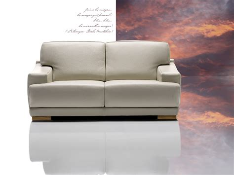 dima president modern grey leather sofa set