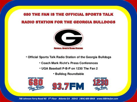 680 the fan atlanta 680 the fan media kit 2012