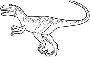Picture Of Allosaurus Coloring Page  Kids Play Color sketch template