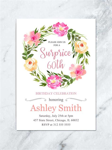 surprise anniversary party invitations gng design