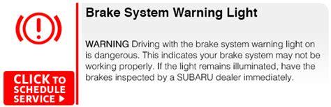 subaru warning lights exclamation point subaru dashboard indicator light information seattle wa