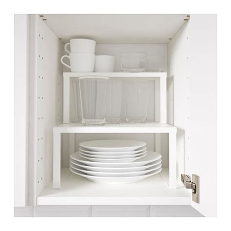 ikea kitchen shelves variera shelf insert white 32x28x16 cm ikea