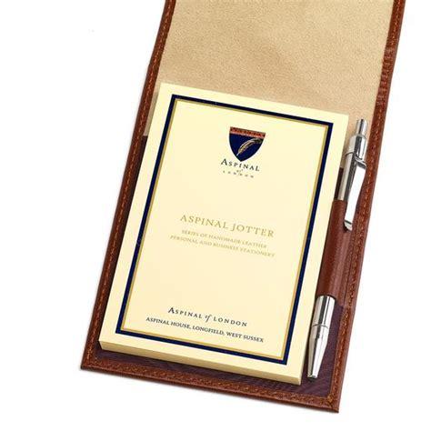 Pocket Memo Pad pocket memo pad in cognac aspinal of