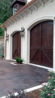 door garage to house carriage house garage doors by c h i for the home