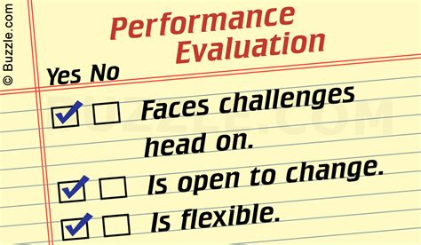 performance evaluation performance evaluation exles for workplace