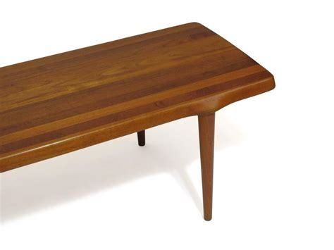 coffee table crafted of solid teak for sale at 1stdibs
