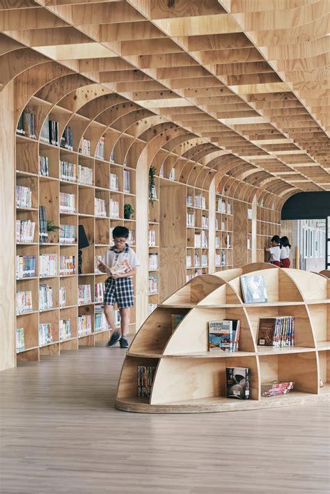 lishin elementary school library tali design archocom