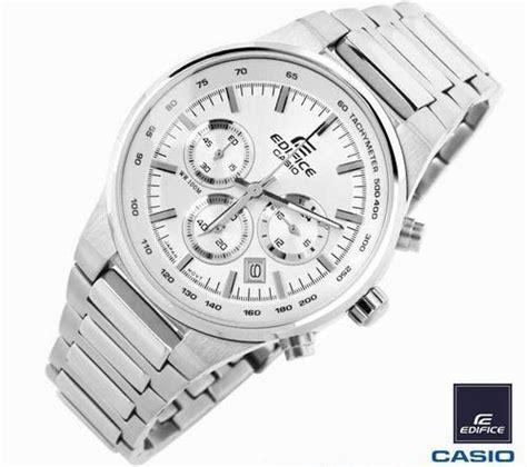 Casio Edifice Ef550 550 Black Stainless Steel Solid s watches casio ef 500bp 7av edifice chronograph