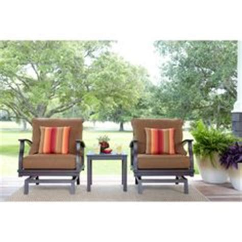 shop allen roth carrinbridge set shop allen roth 2 gatewood brown aluminum patio