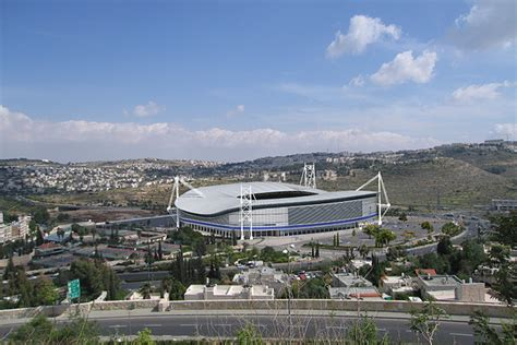 Plan Design Build israel national stadium gab architects